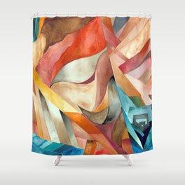 Cali Cubical Shower Curtain