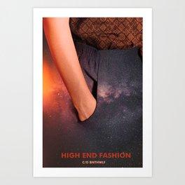 High End Fashion -Poster/Canvas Art Print