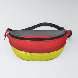 Germany Flag Patt Fanny Pack