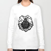 third eye Long Sleeve T-shirts featuring Third Eye by Cecile Psicheer