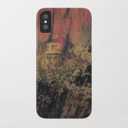 when nobody it's here iPhone Case