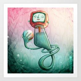 Plancton Art Print