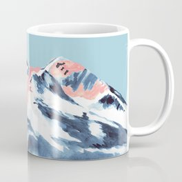 Pink Mountain Coffee Mug
