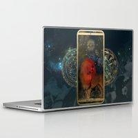 zodiac Laptop & iPad Skins featuring Zodiac : Leo by Andre Sanchez