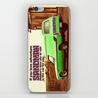 sandman iPhone & iPod Skins featuring Holden Sandman Adventure by Blulime