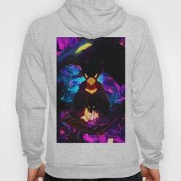 Neon Raven Hoody
