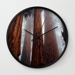 Woodley Forest Wall Clock