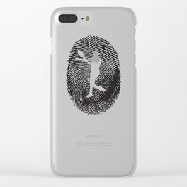 Tennis Tennisplayer Racket Tenniscoach Gift Clear iPhone Case