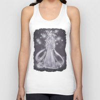 valar morghulis Tank Tops featuring Varda, valar of light by AlyTheKitten