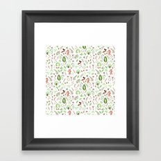 Nature Pattern Framed Art Print