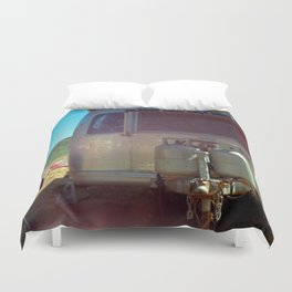 vineyard airstream Duvet Cover