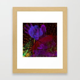 Conference With the Ascended Framed Art Print