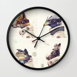 Star Team - Legends of Lylat Wall Clock