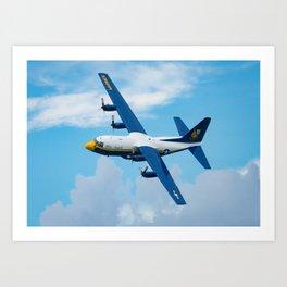Blue Angels Fat Albert in the Photo Pass Art Print