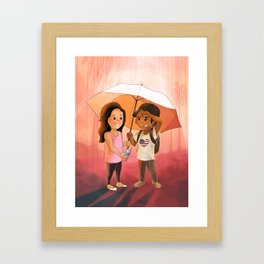 Love Trumps Hate #3 Framed Art Print
