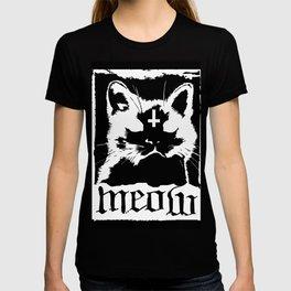 Meow Metal Cat T-shirt