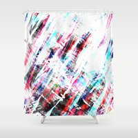 amsterdam Shower Curtains featuring Amsterdam by Kardiak