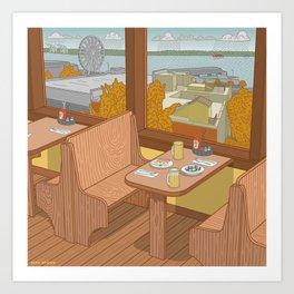 Athenian, Pike Place Market, Seattle WA Art Print