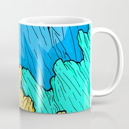 Rainbow Mounts Coffee Mug