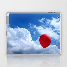 Red on Blue Laptop & iPad Skin