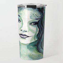 Maybe I'm A Mermaid (Tori Amos inspired art) Travel Mug