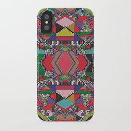 AFRICAN MOTIF  iPhone Case