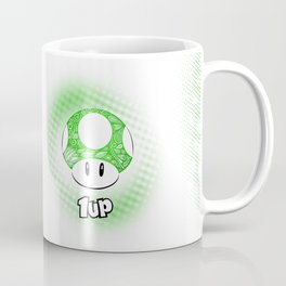1-UP from Mario Coffee Mug
