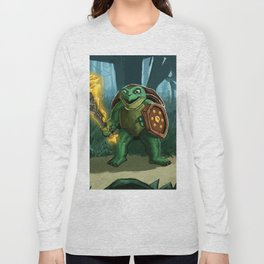 Turtle Paladin Long Sleeve T-shirt