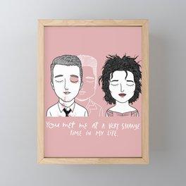 T & M Framed Mini Art Print