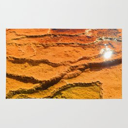 Yellowstone National Park - Sulpher Geyser Rug