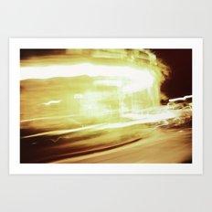 {Speed Of Light} Art Print