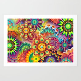 Colors Colors Colors Art Print