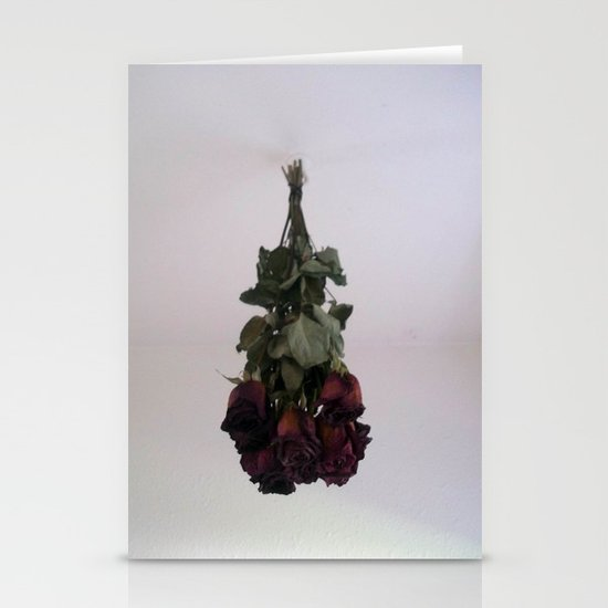 Hanging Roses Stationery Cards