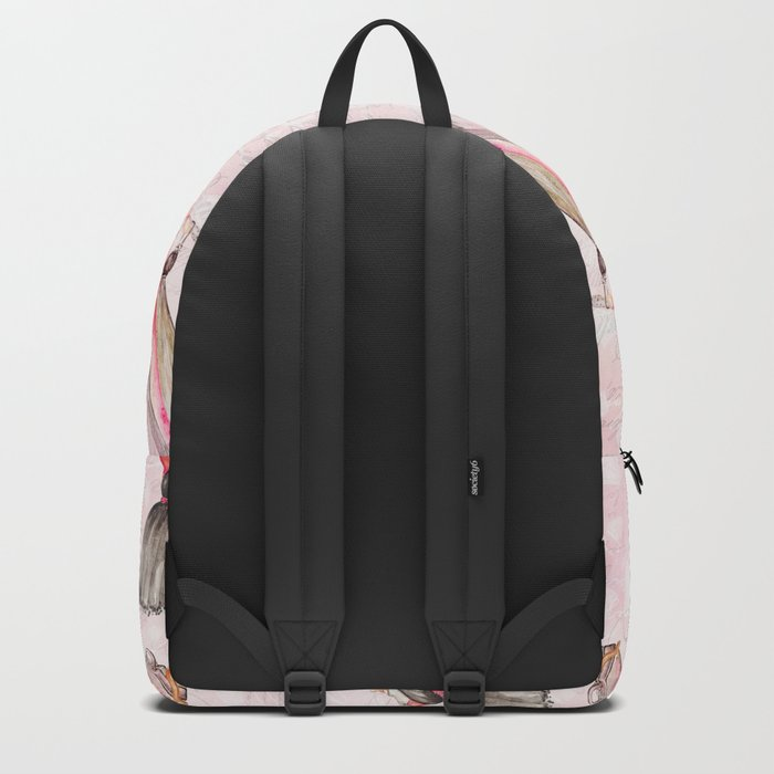 Black dress fashion #2 Backpack