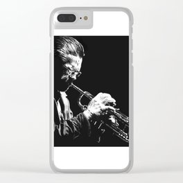Chet Clear iPhone Case