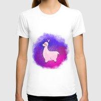 alpaca T-shirts featuring Alpaca by Eriboo
