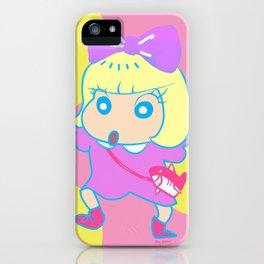 kyary shin chan iPhone Case