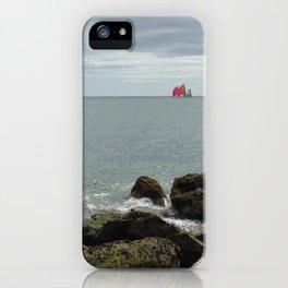 Sailboat Race iPhone Case