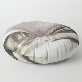 Shadow Play Floor Pillow