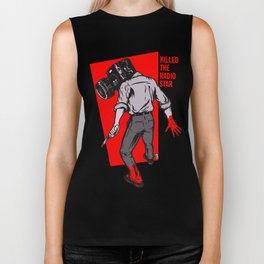 Kills The Radio Star Biker Tank