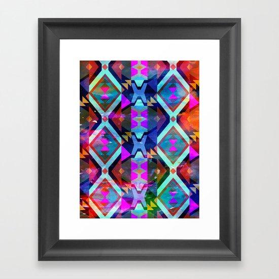 Diamond Fiesta  Framed Art Print