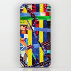 Bruce (stripes 13) iPhone & iPod Skin