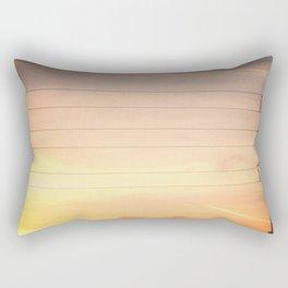 Texas Skies Rectangular Pillow