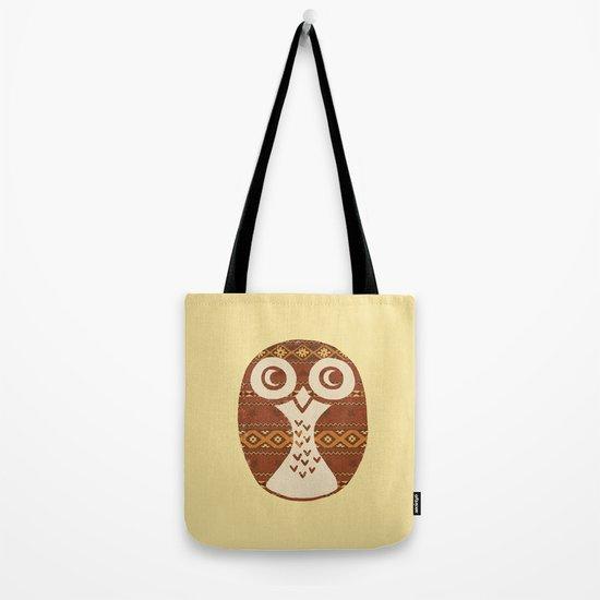 Navajo Owl  Tote Bag