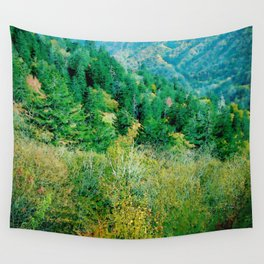 Smokey Mountains Wall Tapestry