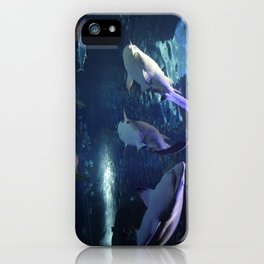 Shark Party iPhone Case
