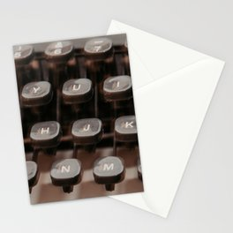 Olivetti vintage typewriter serie - 3 Stationery Cards