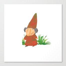 Wilhelmina the Gnome Canvas Print