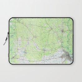 TX Beaumont 121865 1986 topographic map Laptop Sleeve