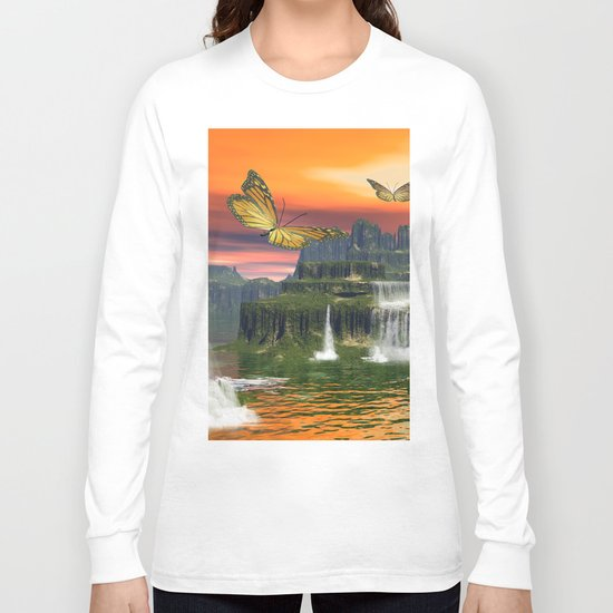 Butterflies Long Sleeve T-shirt